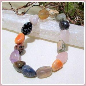 "Jewelry - ""Sweet Meditations"" Mixed Gemstone Bracelet"